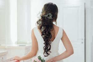 Women in weddingdress and hairs from hair and beauty bali
